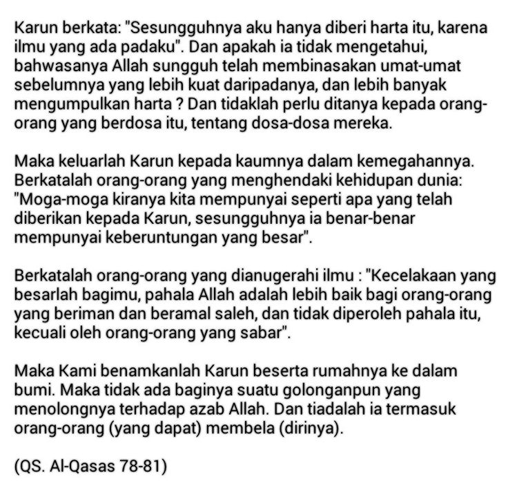 Terjemahan Al Qur'an - Kutipan Islam