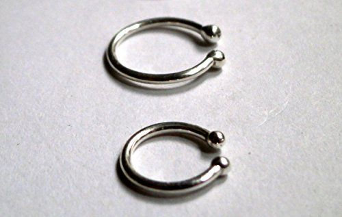 Illusion Non-pierced 925 Sterling Silver Ear Cuff or Fake Nose Ring or Lip Ring Cuff Konstantis Jewelry http://www.amazon.com/dp/B00U3Z5DPO/ref=cm_sw_r_pi_dp_zodJvb0C7PD1P