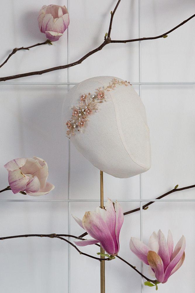 Pearled Rosebud www.mscarves.ro