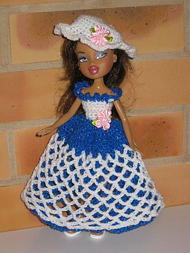 poupee-Bratz--robe de bal http://tricotdamandine.over-blog.com/tag/bratz-monster%20high%20-/