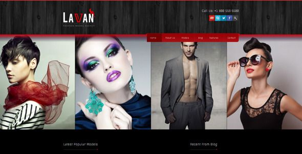 Themeforest – WordPress: Lavan – Fashion Model Agency WordPress CMS Theme on Themeforest Free Download http://themeforestfreedownload.com