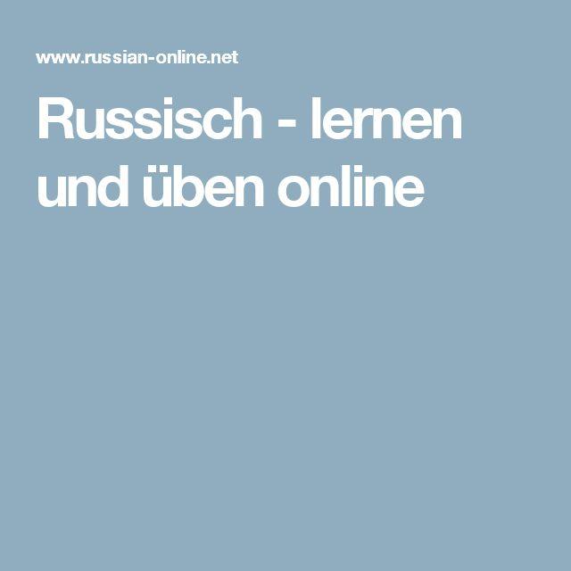 Russisch - lernen und üben online