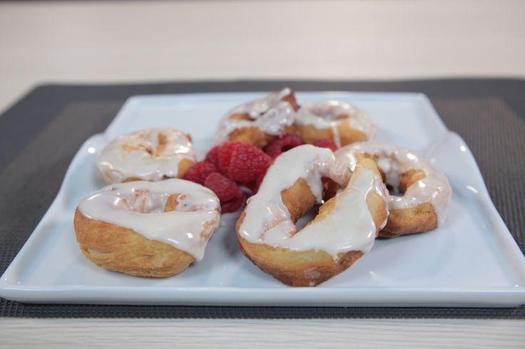 #Rosquillas con glaseado de #café para las fiestas de #SanIsidro