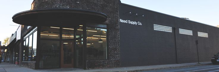 Need Supply Co. We opened in 1996, selling a unique collection of vintage pieces. As a Richmond based boutique we incorporate the culture and style of the city into our mix and attitude. Over the past decade our selection has evolved to become a well-edited assortment of contemporary designers and independent labels from the U.S. and abroad.