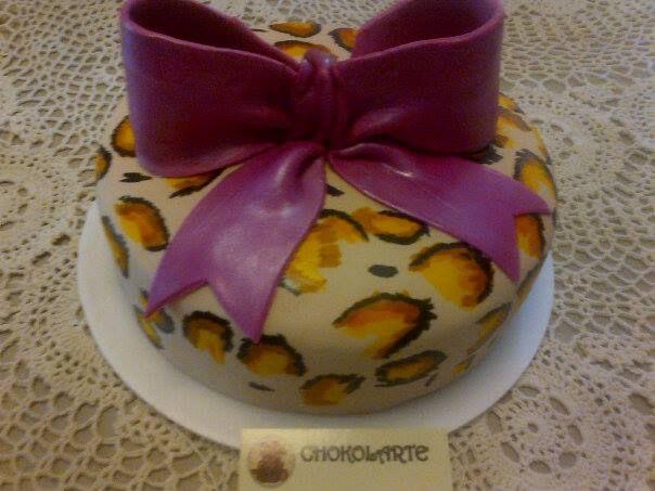 Leorpard Print Cake