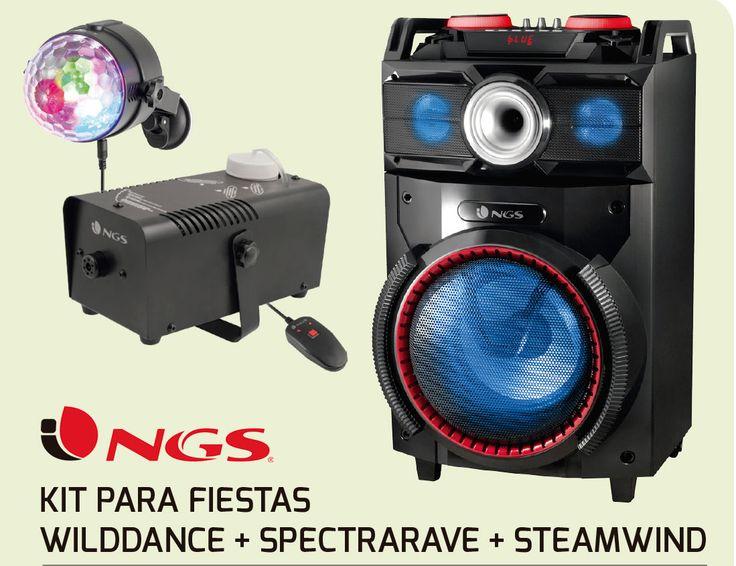 Kit para Fiestas con Equipo de Música DJ, Bola de Discoteca y Máquina de Humo #Navidad #fiestas #Navidad2017 https://www.intertienda.es/tienda/altavoces/kit-para-fiestas-con-equipo-de-musica-dj-bola-de-discoteca-y-maquina-de-humo/
