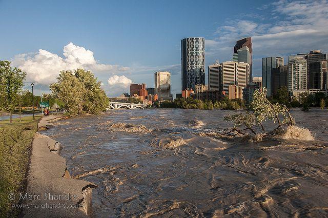 Calgary Flood 2013 - Bike Path Crumbles   Flickr - Photo Sharing!
