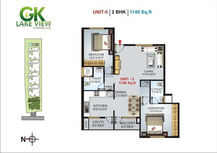 GK LAKE VIEW A BBMP Approved 2&3 BHK Apartments@ Yelahanka - Dodabbalapur Road
