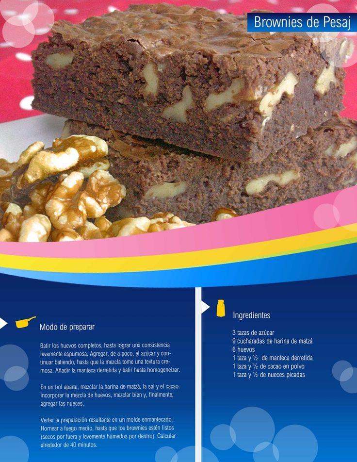 Brownies de Pesaj