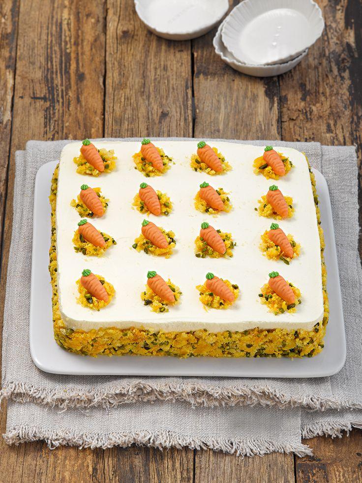 Möhren-Orangen-Torte:  Prächtige Torte mit Orangencreme - der Hit auf jeder Ostertafel