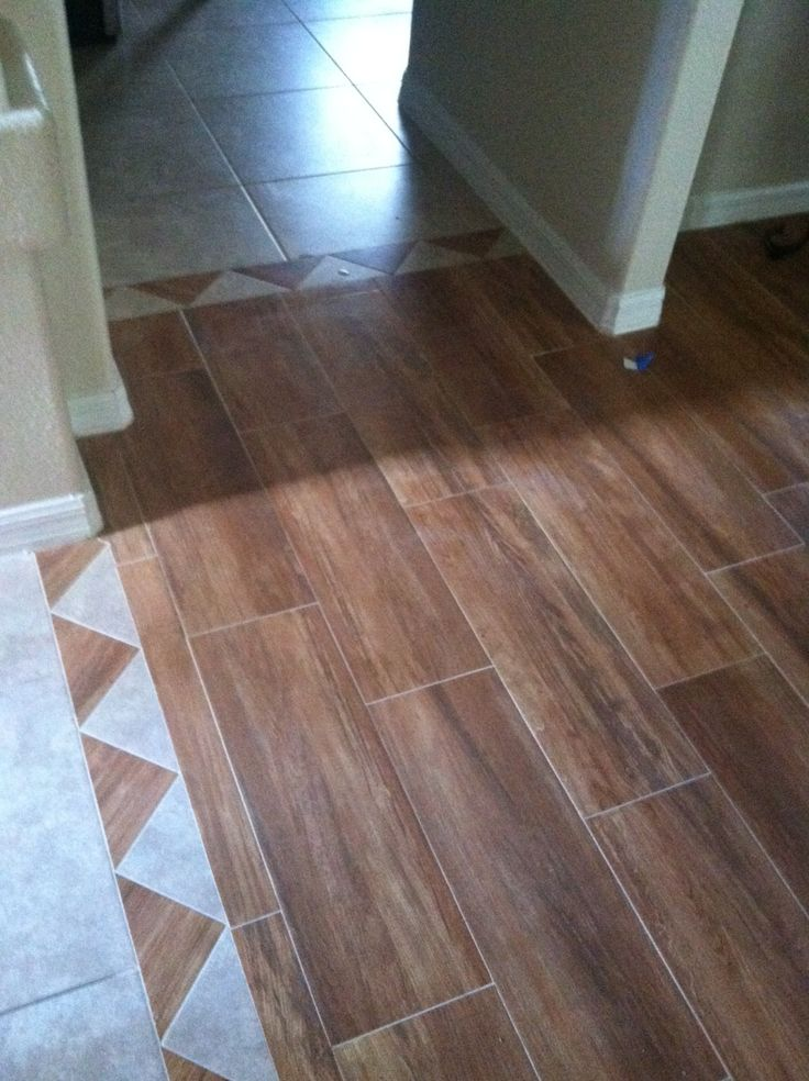 Perfect Transition From Laminate To Tile 13 On With