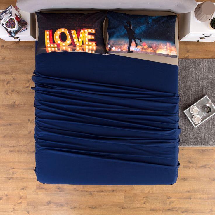 Completo Letto Federe Digitale Love  #bedroom #carillohome #pinterest #pinit #completoletto #lenzuola #love #bedroomfurniture #homedecor #home #biancheriaperlacasa