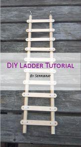 DIY Pet Rat Ladder - No glue here!