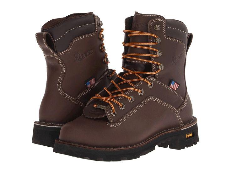 Danner Quarry USA Men's Work Boots Brown