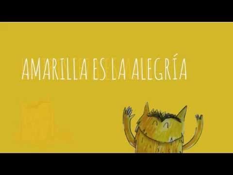 """Basado en el fantástico cuento """"El monstruo de colores"""" de Ana Llena he creado este videocanción, dónde no sólo se enseñan las emociones, sino también la con..."""