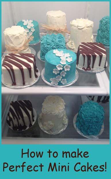 How to make Mini Cakes