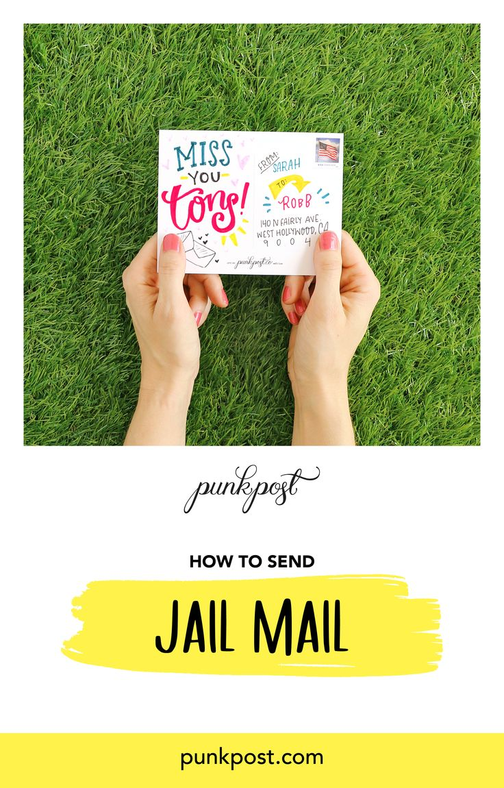 How to send jail mail jail inmate love encouragement cards