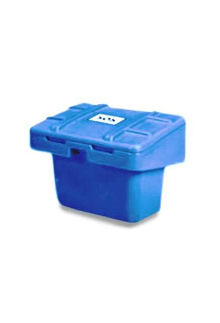 Sand or salt storage bin: Solid material storage bins
