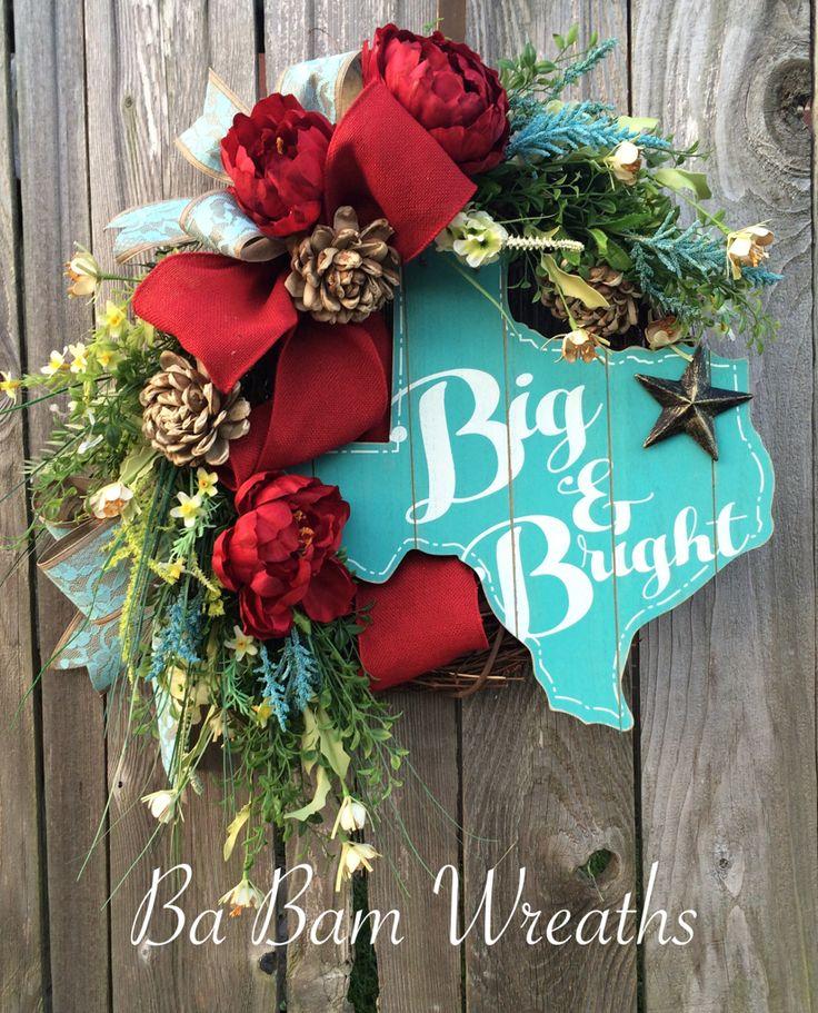 Texas Wreath by Ba Bam Wreaths