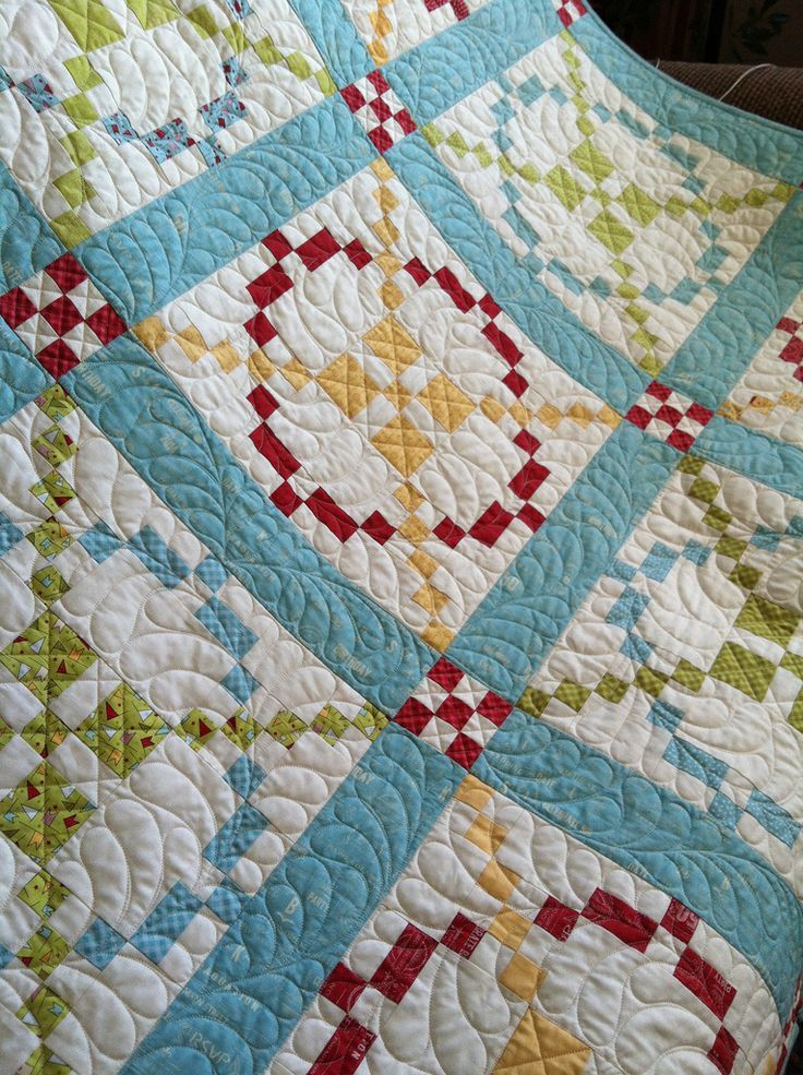Tone it Down Quilt Along - Featuring Wishes by Sweetwater, by Kimberly of FQS