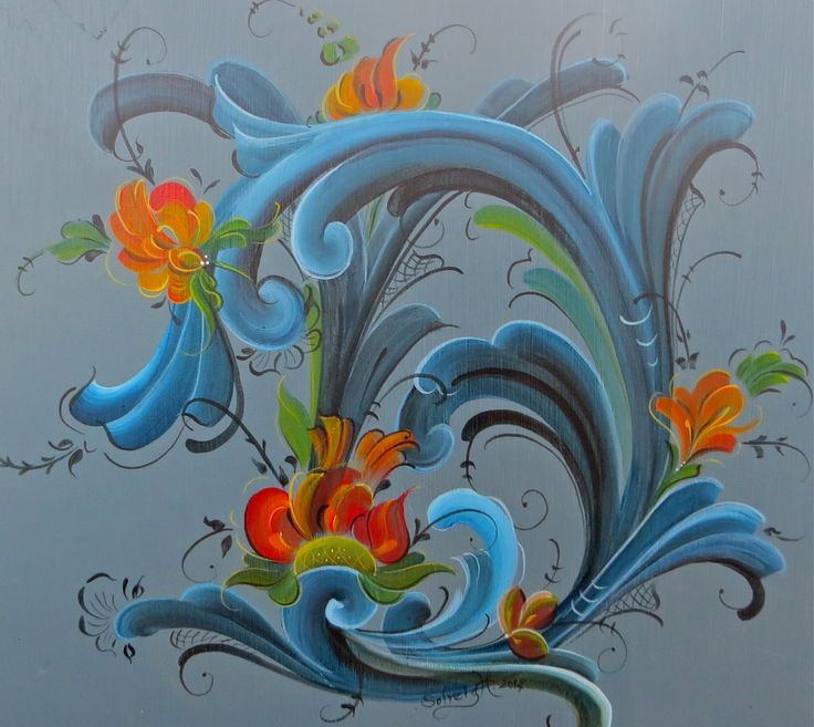 17 Best images about Rosemaling, Hindeloopen and ...