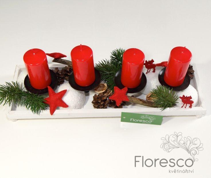 Adventní věnce a svícny 2013 | Květinářství Floresco