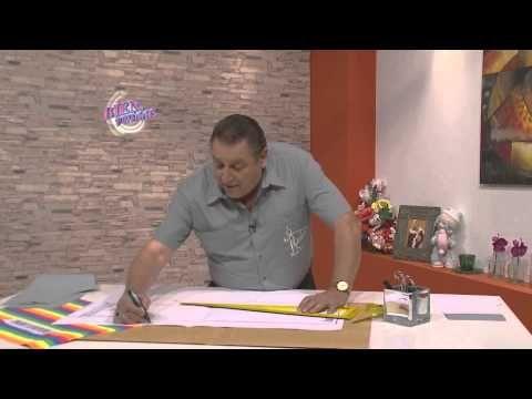 Hermenegildo Zampar - Bienvenidas en HD - Enseña el molde del pantalón de jogging para niños. - YouTube