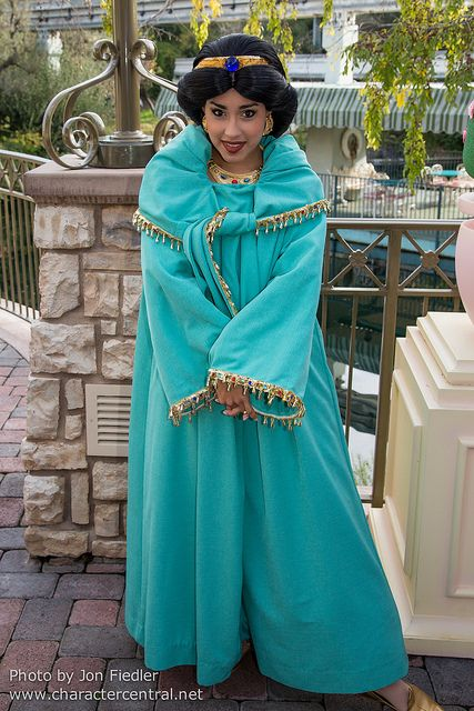 Meeting the Princess Jasmine