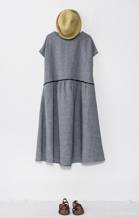 a.b gingham dress style P578