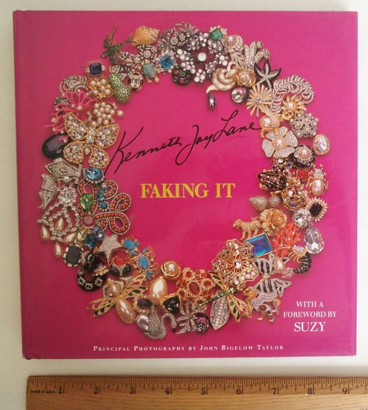 Kenneth Jay Lane : FAKING IT  by Harrice Simons Miller and Kenneth Jay Lane... #Textbook