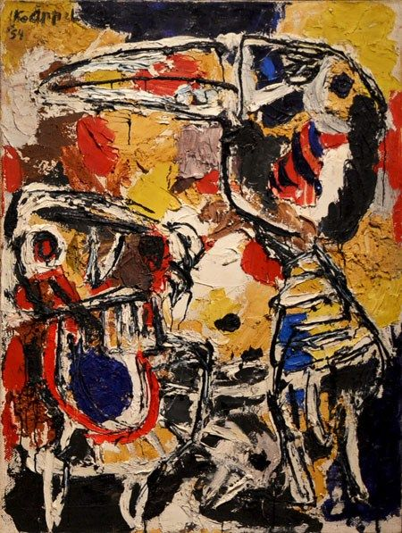 Karel Appel | Exposición Lo nunca visto | www.StyleFeelFree.com