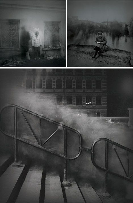 Time-Lapse Ghost Cities: 8 Eerie Black & White Photographs