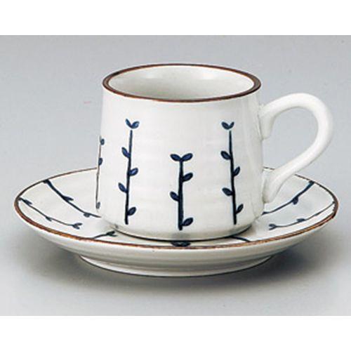 Blue seedlings coffee cups