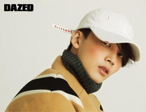 Jeonghan (Seventeen) - Dazed & Confused Magazine December Issue '16