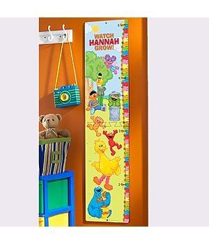 Decor for a Sesame Street Bedroom