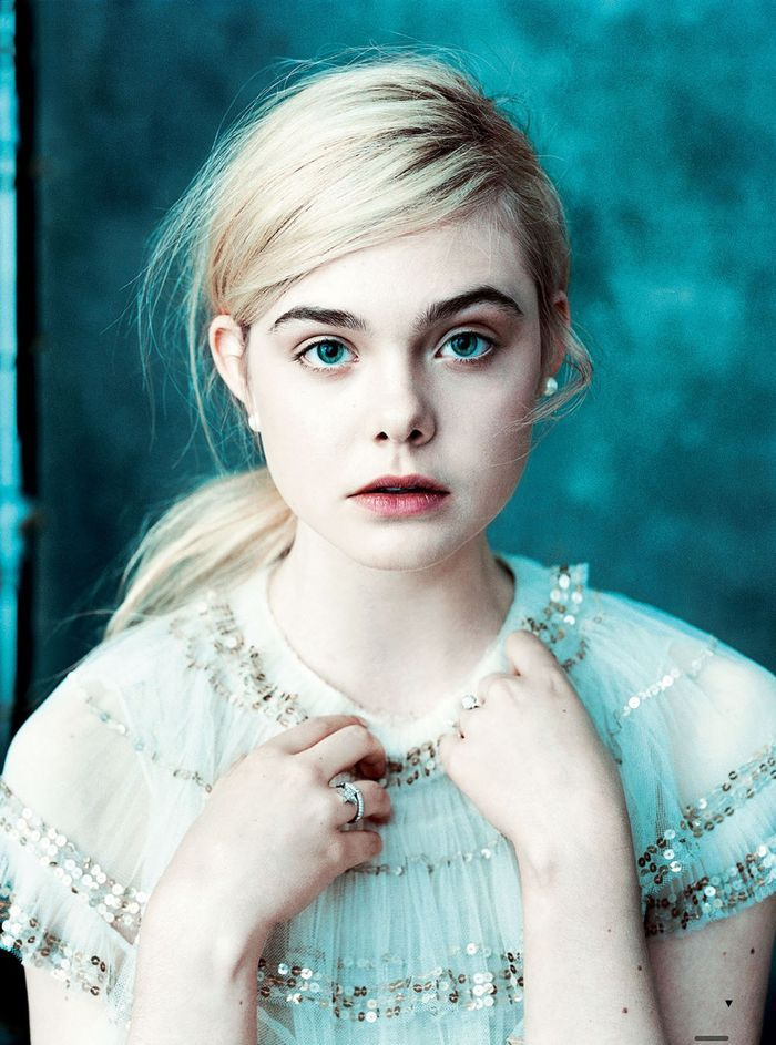 Elle Fanning by Norman Jean Roy for US Vogue March 2013 #photography #portrait