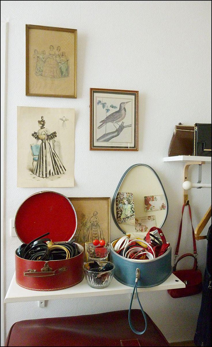 Valisette/vanity vintage