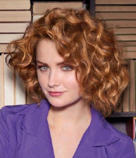 Женская причёска для волос средней длины