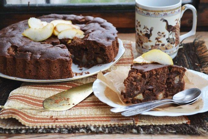 Пирог «Яблочки с шоколадом»