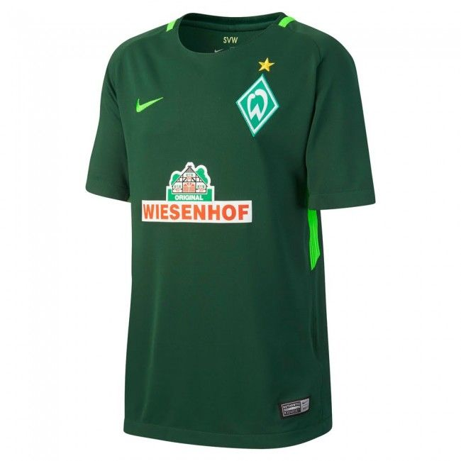 Camiseta del Werder Bremen 2017-2018 Local #werder #bremen #shirt #trikot