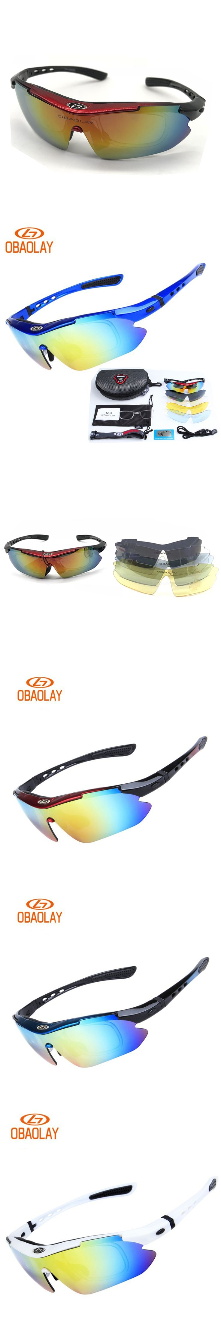 5 Lens Polarized Glasses Cycling Sunglasses Ski Bicycle Outdoor Sport Fishing Eyewear Glasses Cool gafas de sol polarizadas