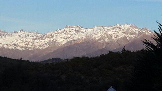 Cordillera de los andes Coya rancagua