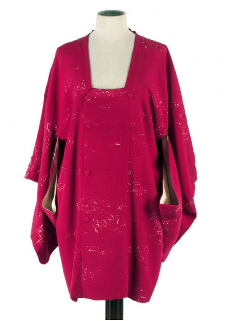 Rare Japanese #Kimono in Pure silk http://www.madeinused.com/product/rare-japanese-kimono-in-pure-silk-5/