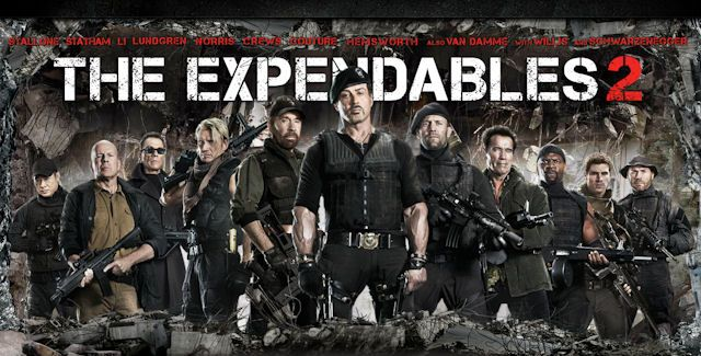 The Expendables 2!