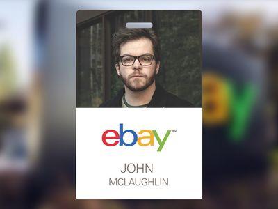 eBay Employee Badge