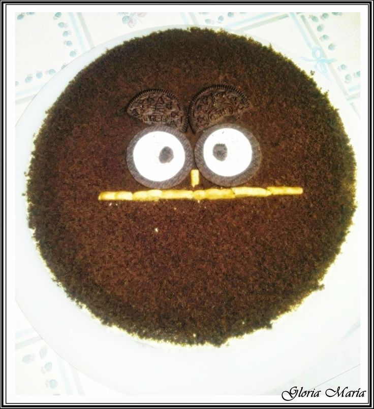 Chocolate y Purpurina: TARTA OREO     Uff esta receta si que está de vici...