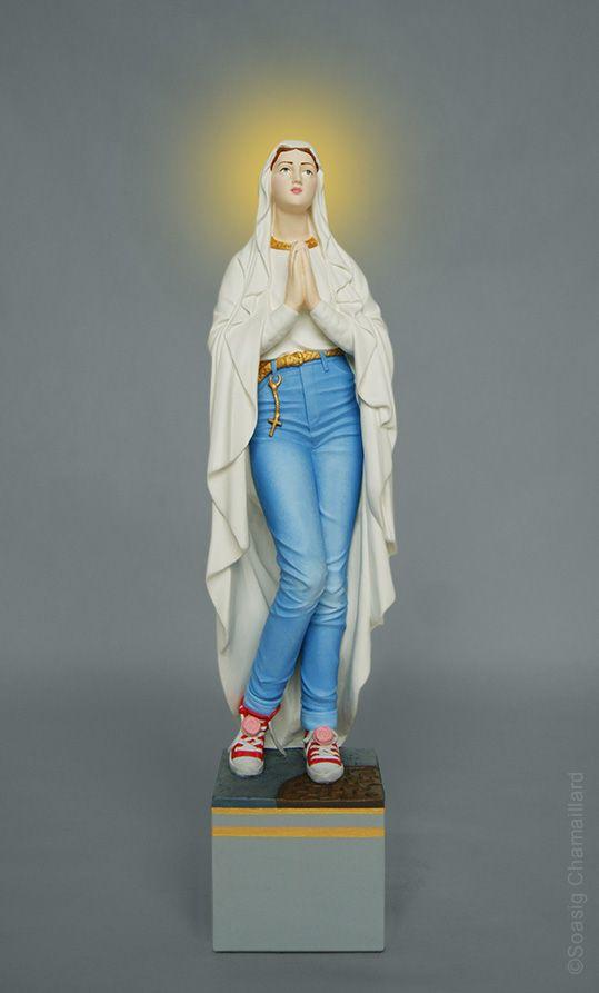 1000 id es sur le th me signe vierge sur pinterest for Statue vierge marie pour exterieur