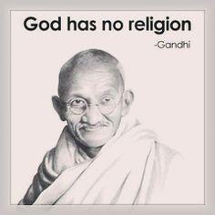 Gandhi Religion