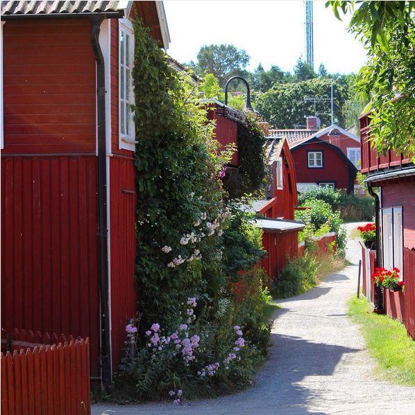 Sandhamn, Stockholmn archipelago in Sweden