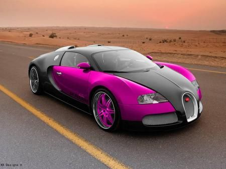 This is a beautiful Bugatti Veyron. I'm not completely sure of its price, but I think it's around half a million English pounds.